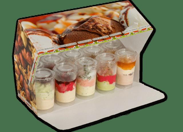 Jouluinen jäätelökakku